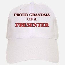 Proud Grandma of a Presenter Baseball Baseball Cap