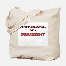 Proud Grandma of a President Tote Bag