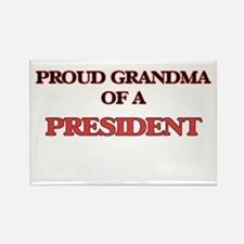 Proud Grandma of a President Magnets