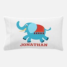 Elephant (p) Pillow Case