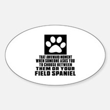 Field Spaniel Awkward Dog Designs Decal