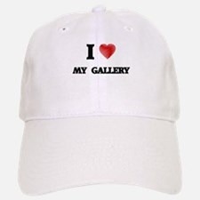 I Love My Gallery Baseball Baseball Cap