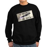 Tilted Andromeda License Plate Sweatshirt
