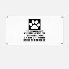 Dogue de Bordeaux Awkward Dog Designs Banner