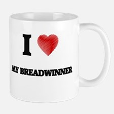 I Love My Breadwinner Mugs