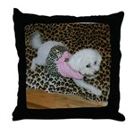 SOPHIE IN PINK THROW PILLOW