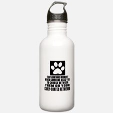 Curly-Coated Retriever Water Bottle