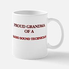 Proud Grandma of a Radio Sound Technician Mugs