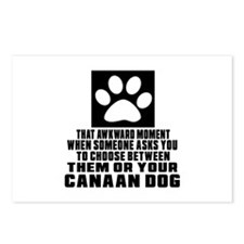 Canaan Dog Awkward Dog De Postcards (Package of 8)