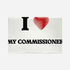I love My Commissioner Magnets