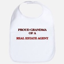 Proud Grandma of a Real Estate Agent Bib