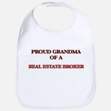 Proud Grandma of a Real Estate Broker Bib