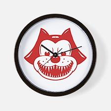 Scarycat Wall Clock