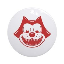 Scarycat Ornament (Round)