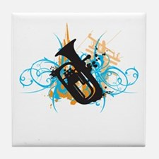 Urban Baritone Tile Coaster