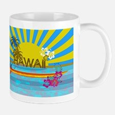 Hawaii Bright Colorful Colors Mugs