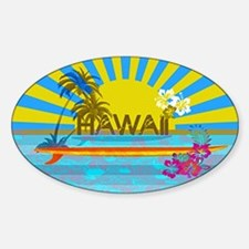 Hawaii Bright Colorful Colors Decal