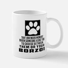 Borzoi Awkward Dog Designs Mug