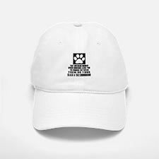 Black & Tan Coonhound Awkward Dog Designs Baseball Baseball Cap