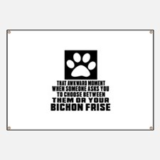 Bichon Frise Awkward Dog Designs Banner