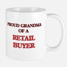 Proud Grandma of a Retail Buyer Mugs