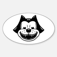 Scarycat Oval Decal
