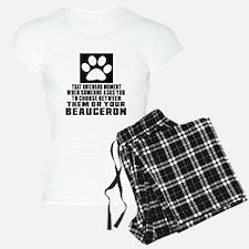 Beauceron Awkward Dog Desig Pajamas