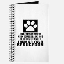 Beauceron Awkward Dog Designs Journal