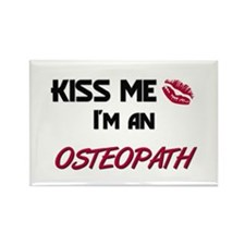 Kiss Me I'm a OSTEOPATH Rectangle Magnet