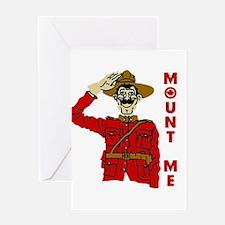 Mount Me Greeting Card