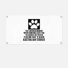 Australian Terrier Awkward Dog Designs Banner
