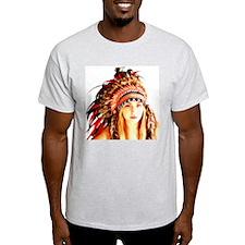 Cool Native american woman T-Shirt
