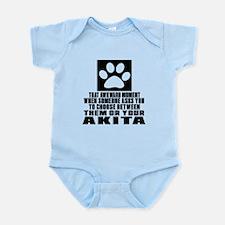 Akita Awkward Dog Designs Infant Bodysuit