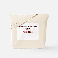 Proud Grandma of a Scout Tote Bag