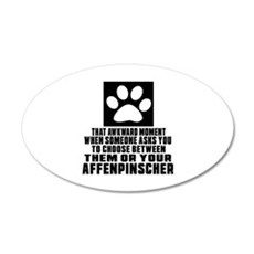 Affenpinscher Awkward Dog De Wall Decal