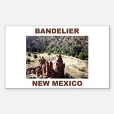 BANDELIER, NEW MEXICO Rectangle Decal