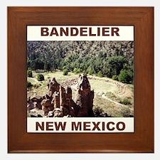 BANDELIER, NEW MEXICO Framed Tile