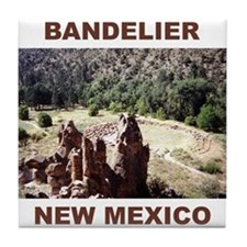 BANDELIER, NEW MEXICO Tile Coaster