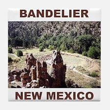 BANDELIER, NEW MEXICO Tile Coaster