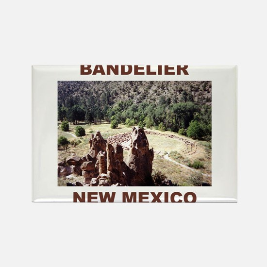BANDELIER, NEW MEXICO Rectangle Magnet