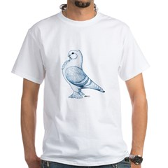 A Classic Frill Pigeon Shirt