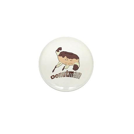 Donut Man Mini Button