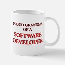 Proud Grandma of a Software Developer Mugs