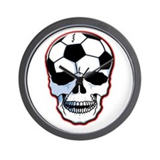 Soccer Head Wall Clock