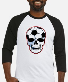 Soccer Head Baseball Jersey