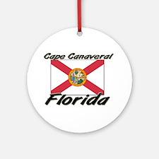 Cape Canaveral Florida Ornament (Round)