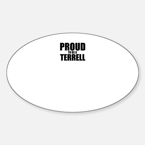 Proud to be TERRAZAS Decal
