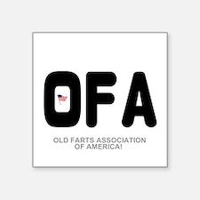 OLD FARTS ASSOCIATION OF AMERICA Sticker