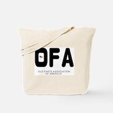 OLD FARTS ASSOCIATION OF AMERICA Tote Bag