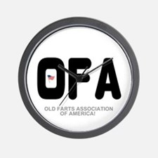OLD FARTS ASSOCIATION OF AMERICA Wall Clock